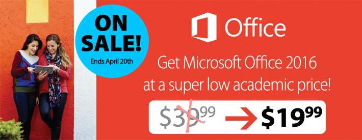 Microsoft Office 2016 - $19.99 - SALE